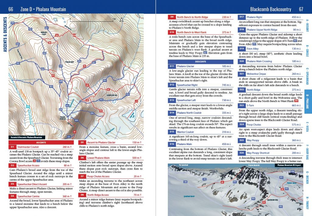 Phalanx Route Description