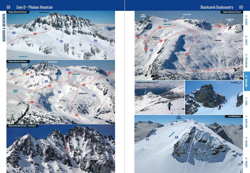 Phalanx Route Photos  from Spearhead Backcountry Atlas