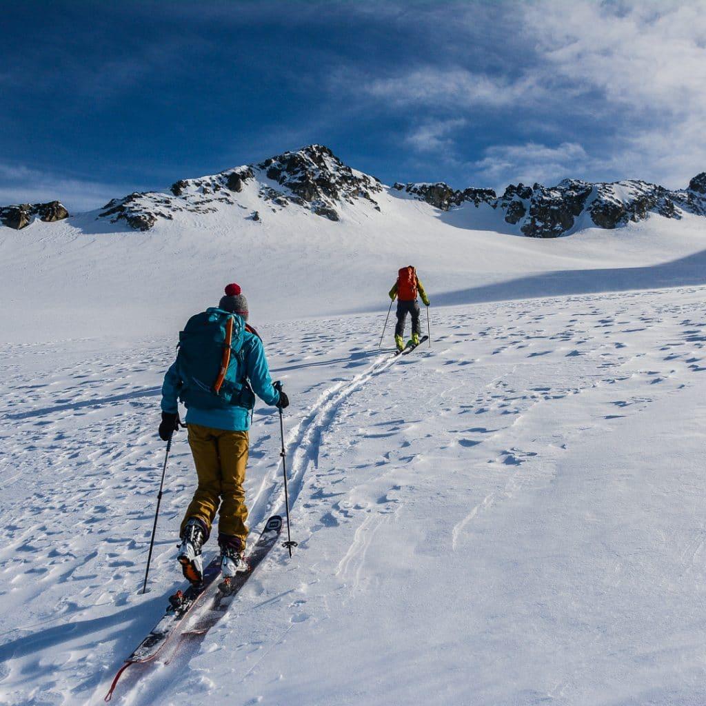 Climbing Tremor Glacier in the Blackcomb Backcountry in the Spearhead Range